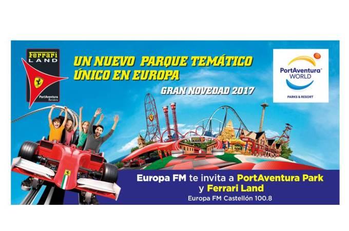 Concurso PortAventura Park y Ferrari Land