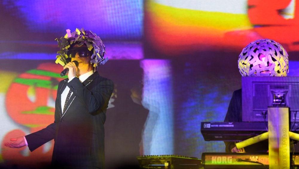 Los Pet Shop Boys en el Cruïlla Barcelona 2017