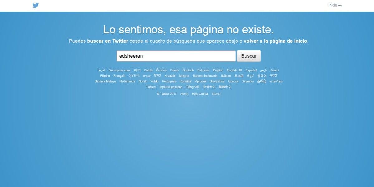 Ed Sheeran elimina su cuenta de Twitter