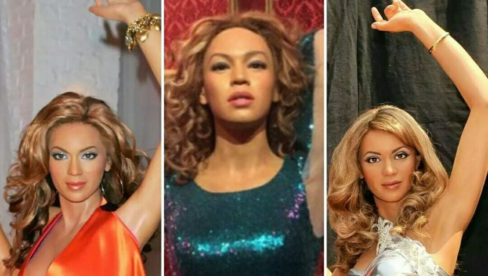 Beyoncé de cera en Londres, Madrid y California