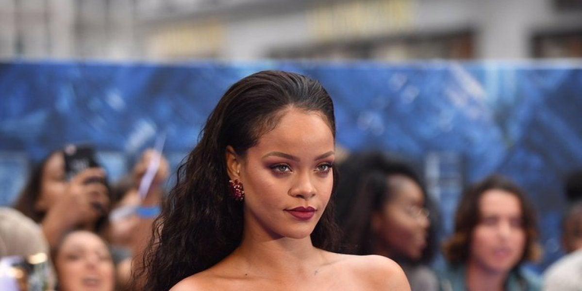 Rihanna en la premiere de 'Valerian' en Londres