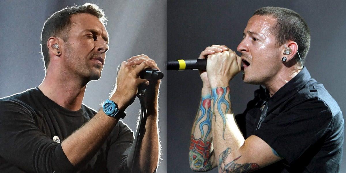 Coldplay rinde homenaje a Chester Bennington