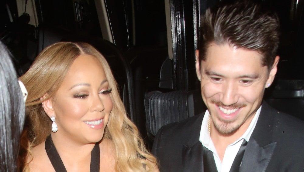 Mariah Carey sale de cena con su nuevo novio Bryan Tanaka