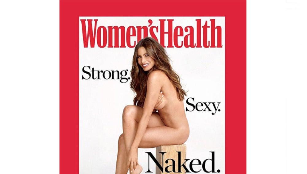 Sofia Vergara posa completamente desnuda para la portada de Women's Health