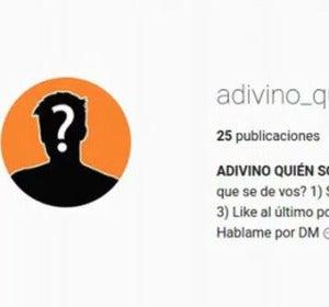 Las cuentas anónimas de 'Adivino quién sos' en Instagram