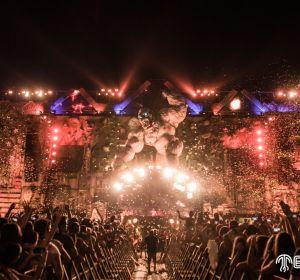 Hardwell en el mainstage de Medusa Sunbeach Festival 2017