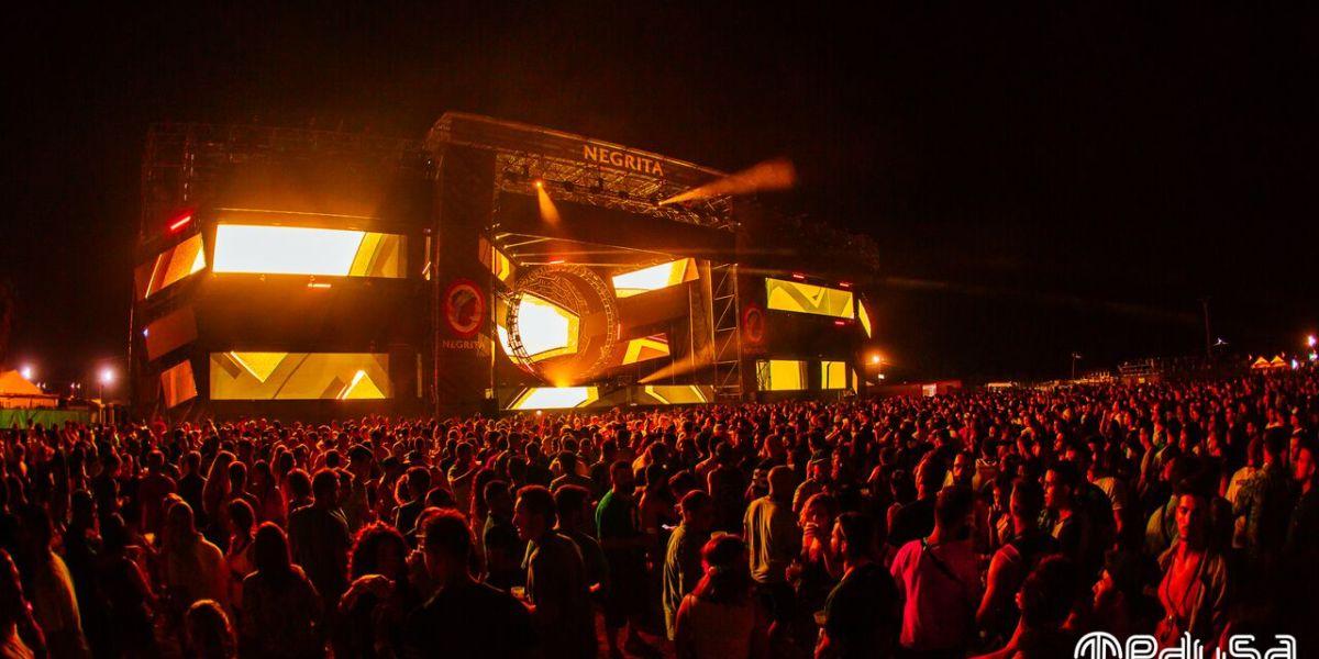Kalbrenner en Resonance Stage de Medusa Sunbeach Festival 2017