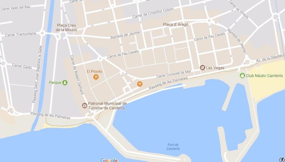 Los Mossos d'Esquadra están desarrollando una operación en Cambrils (Tarragona)