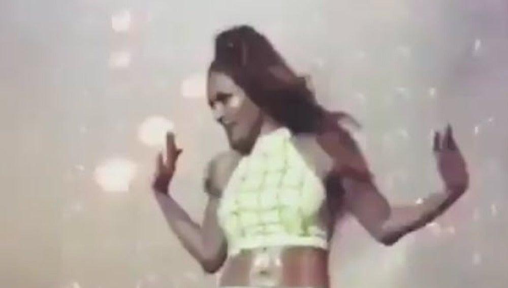 JLo revoluciona Twitter con su baile en Las Vegas