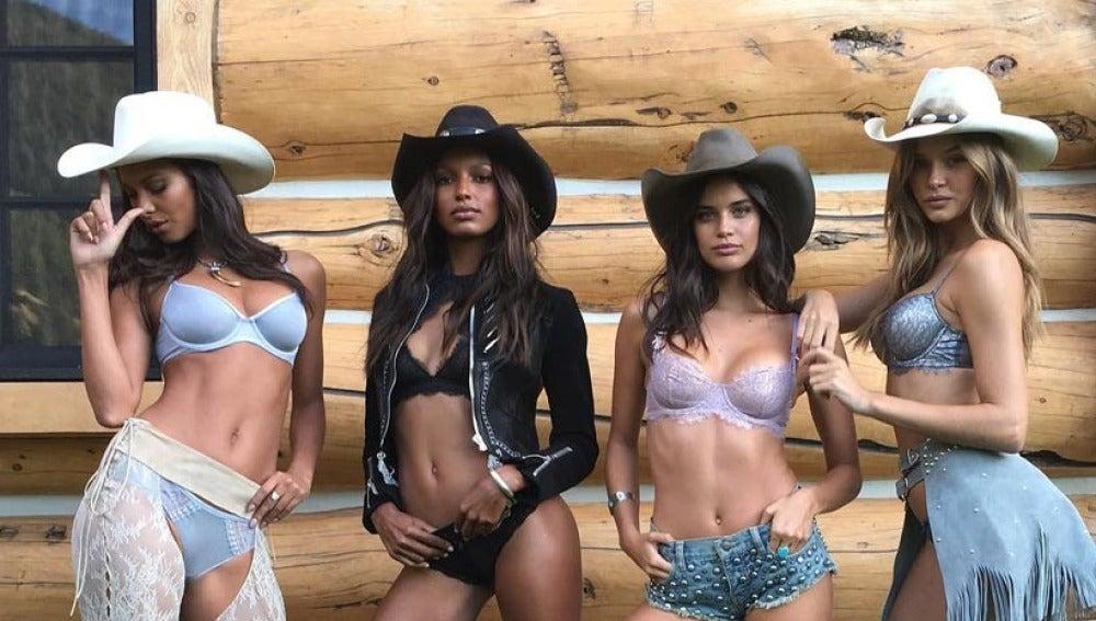 Las modelos de Victoria's Secret en Aspen