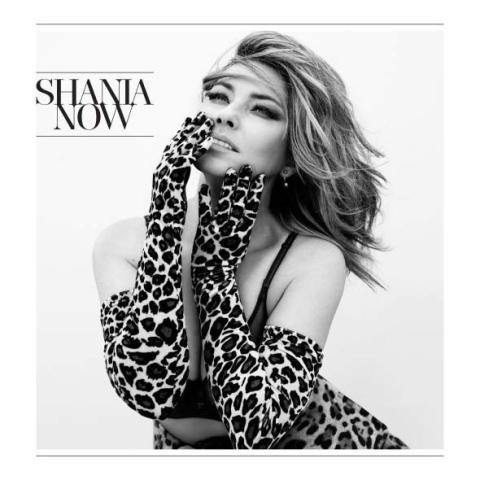 Portada de 'Now', el disco de Shania Twain