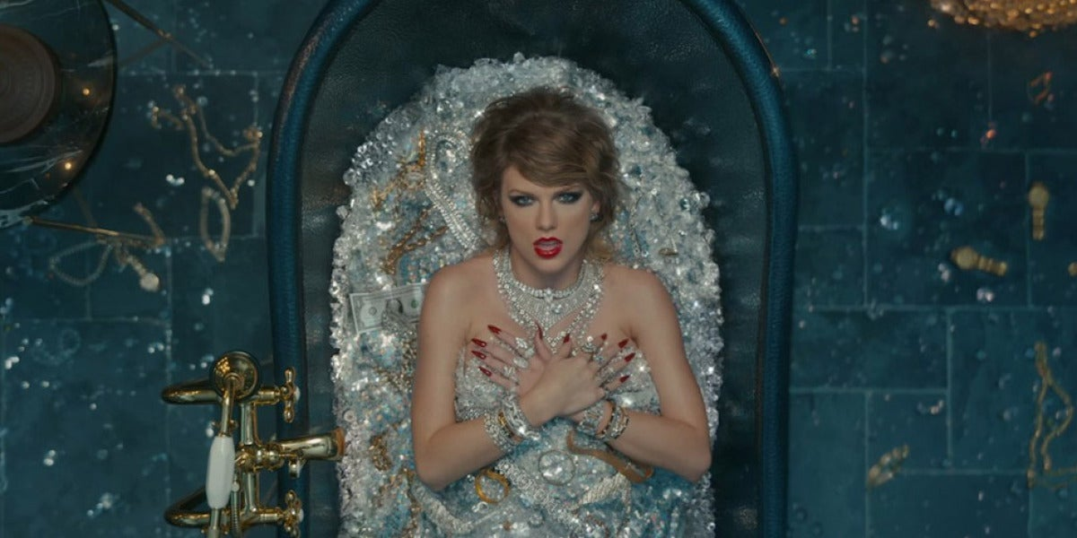 Taylor Swift en el videoclip de 'Look What You Make Me Do'