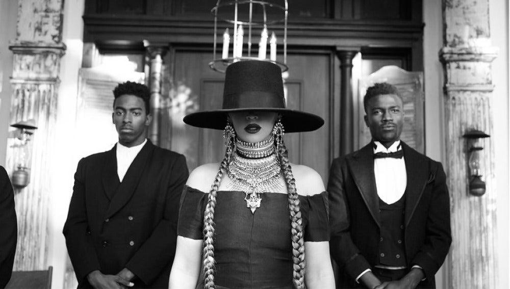 Beyoncé en el vídeo de 'Formation'