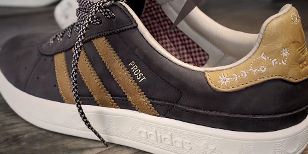 Zapatillas Adidas con repelente de vómito y cerveza