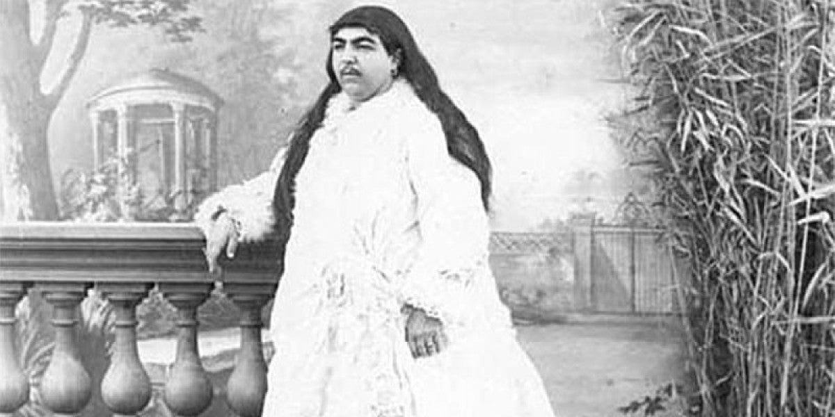 La princesa Zahra Khanom Tadj es-Saltaneh
