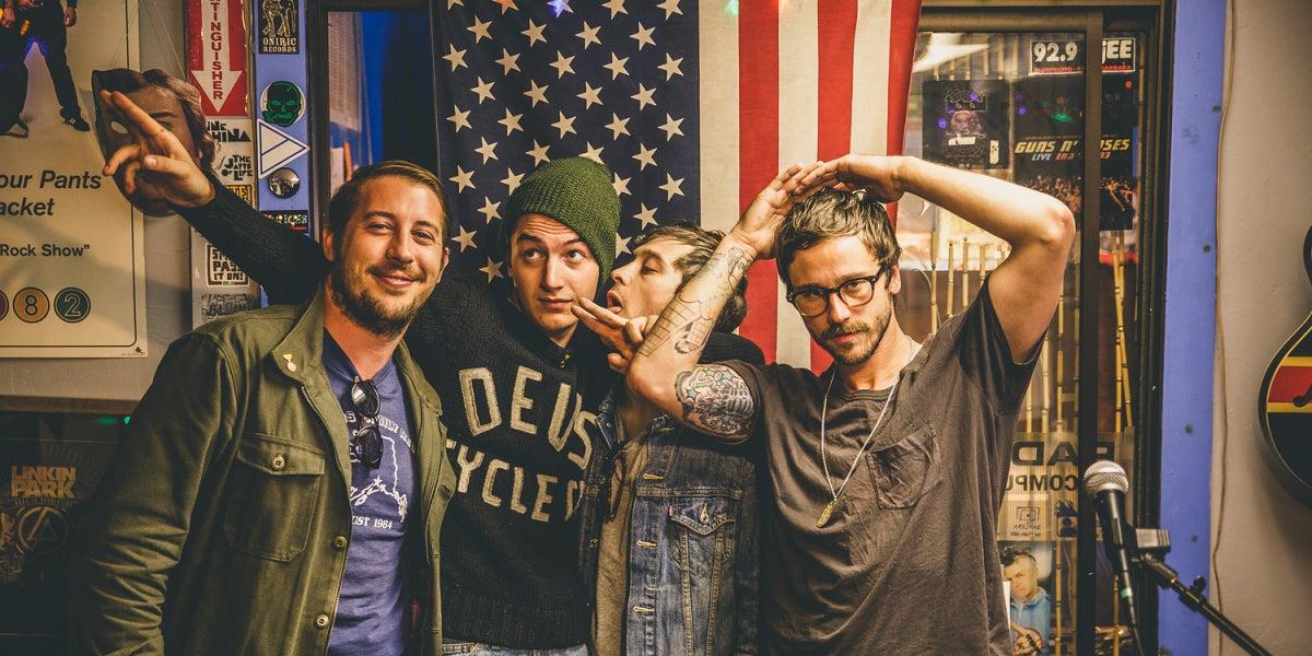 La banda estadounidense Portugal. The Man