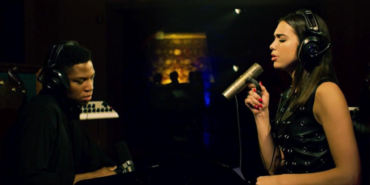 X Gallant y Dua Lipa versionando 'Tears Dry On Their Own' de Amy Winehouse