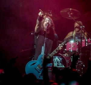 Foo Fighters arrasa con 3 horas de concierto en su Secret Show en Barcelona