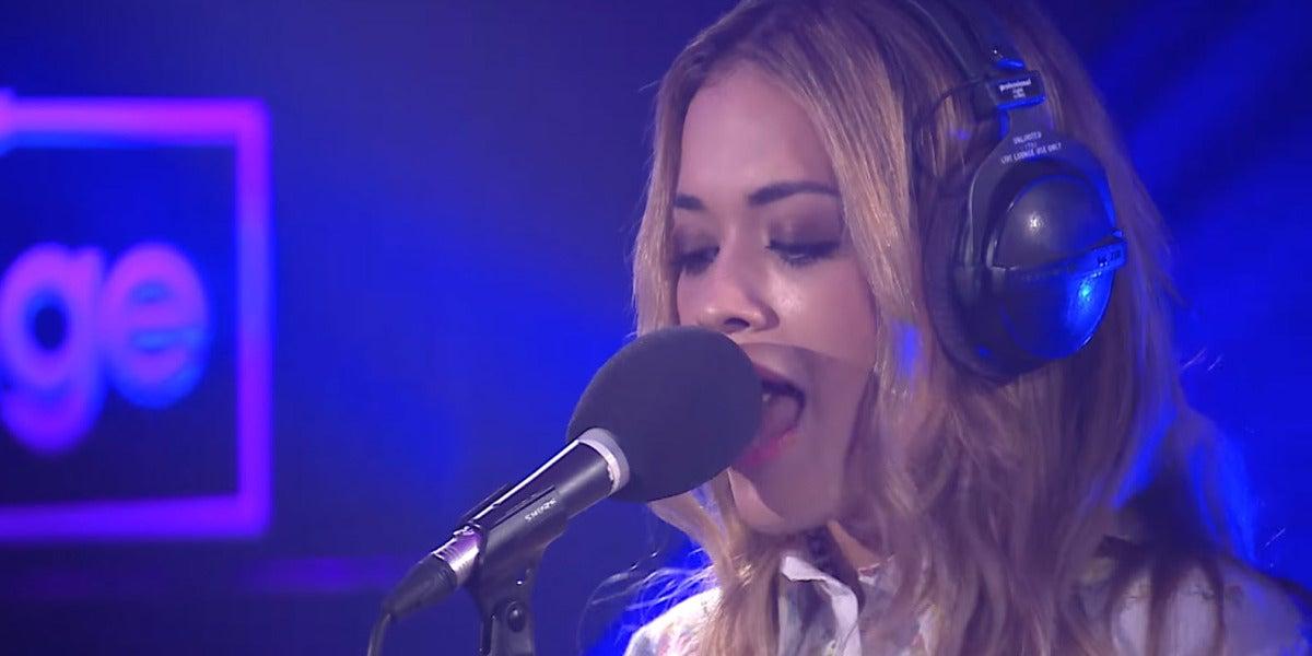 Rita Ora versiona 'Like a Virgin' de Madonna