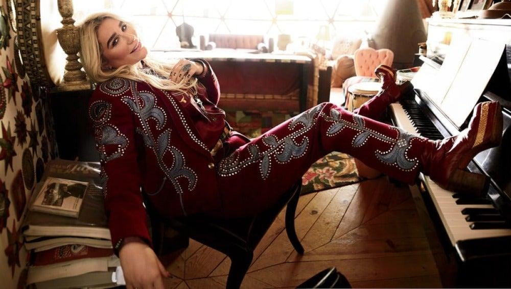 Kesha para el nuevo número de Rolling Stone