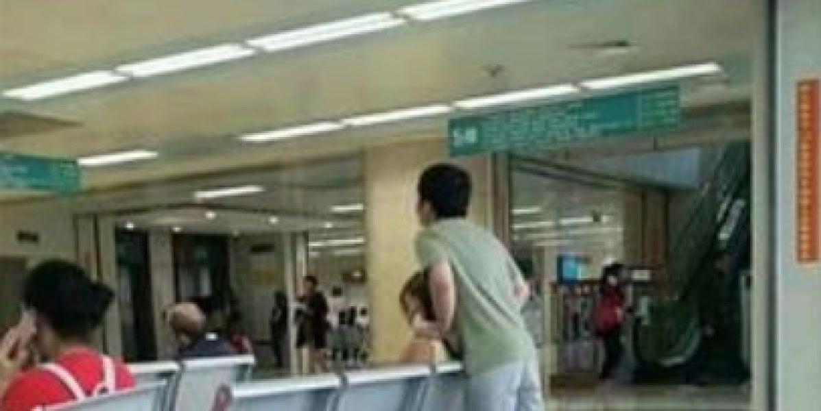 El sacrificio de un joven por aliviar a su novia se vuelve viral