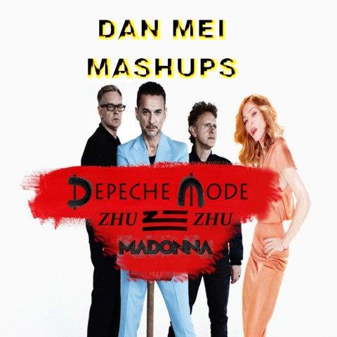 Mashup: Depeche Mode vs Zhu vs Madonna