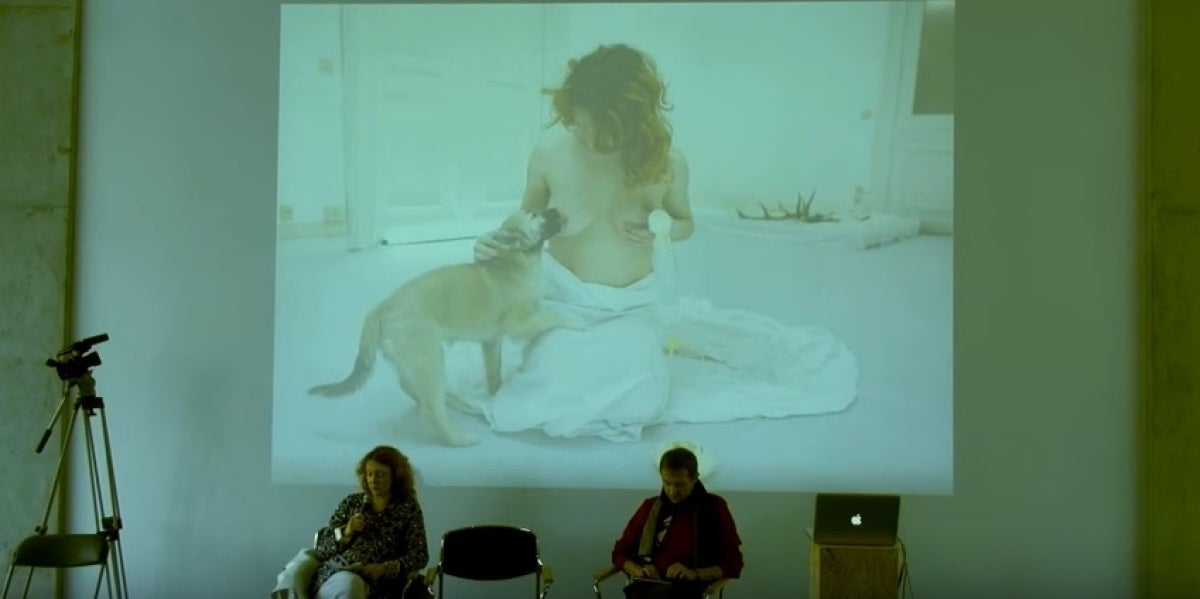 Maja Smrekar, ganadora del 'Golden Nica'