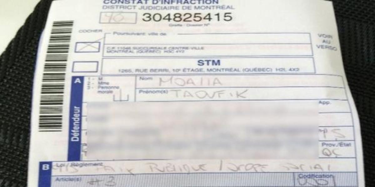 La multa que le pusieron a Taoufik Moalla