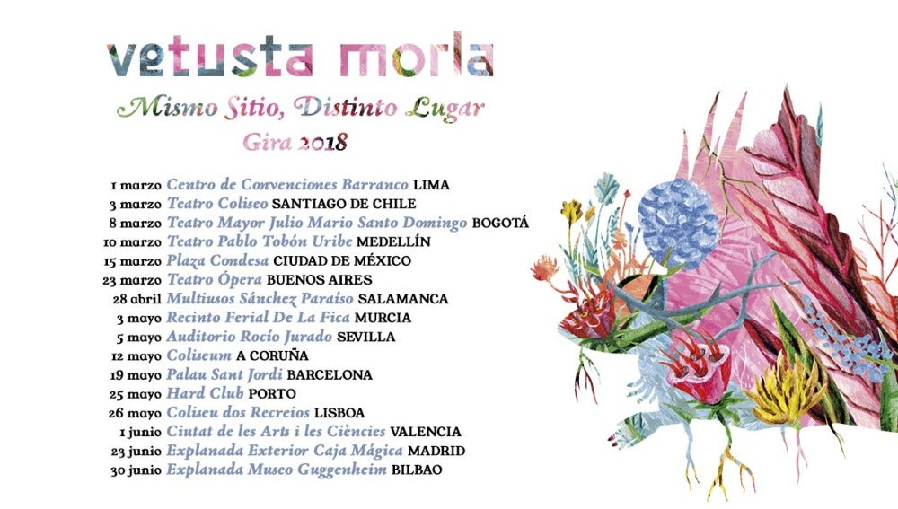 Gira Vetusta Morla con Europa FM 2018