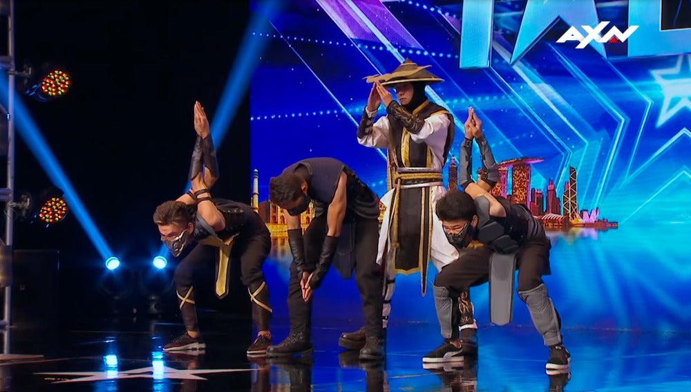 Tributo a Mortal Kombat en Asia's Got Talent