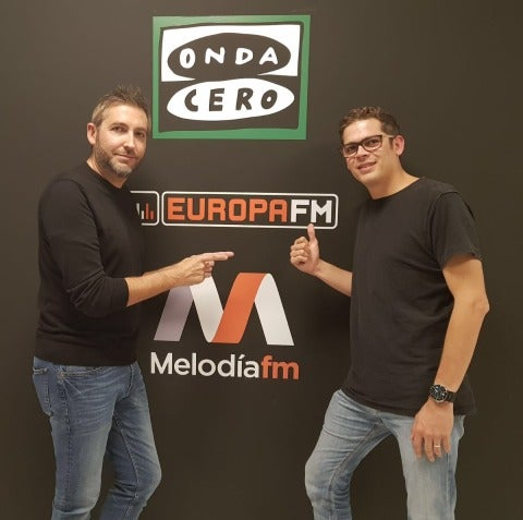 Brian Cross y Frank Blanco en EuropaFM