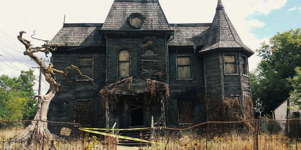 La casa de 'It' en la reciente película de terror
