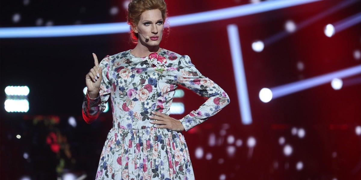 Un Fran Dieli entregado conmueve al público con 'Send my love' como Adele
