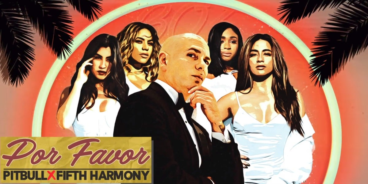 Pitbull y Fifth Harmony en 'Por favor'