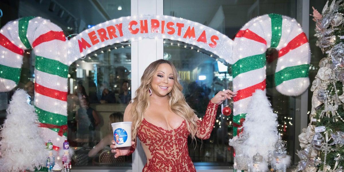 Mariah Carey, la reina de la canción de Navidad