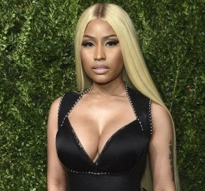 Nicki Minaj en los Vogue Fashion Fund Awards