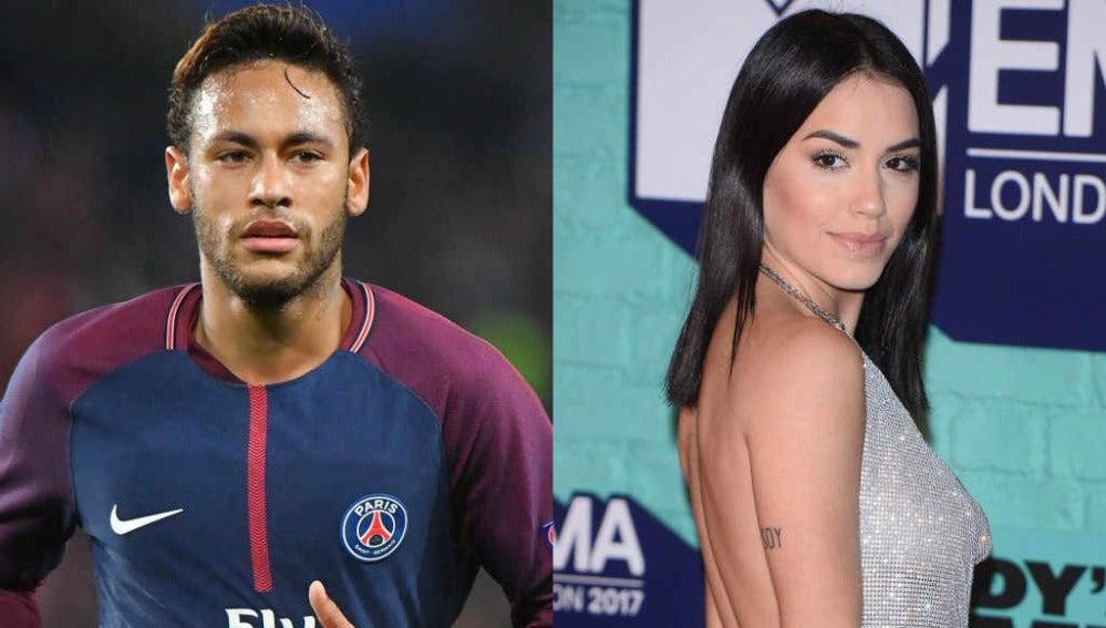 Neymar y Lali Espósito