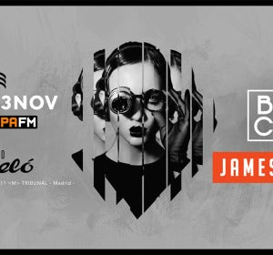 Fiesta Europa FM en el Teatro Barceló con Brian Cross y James Hype