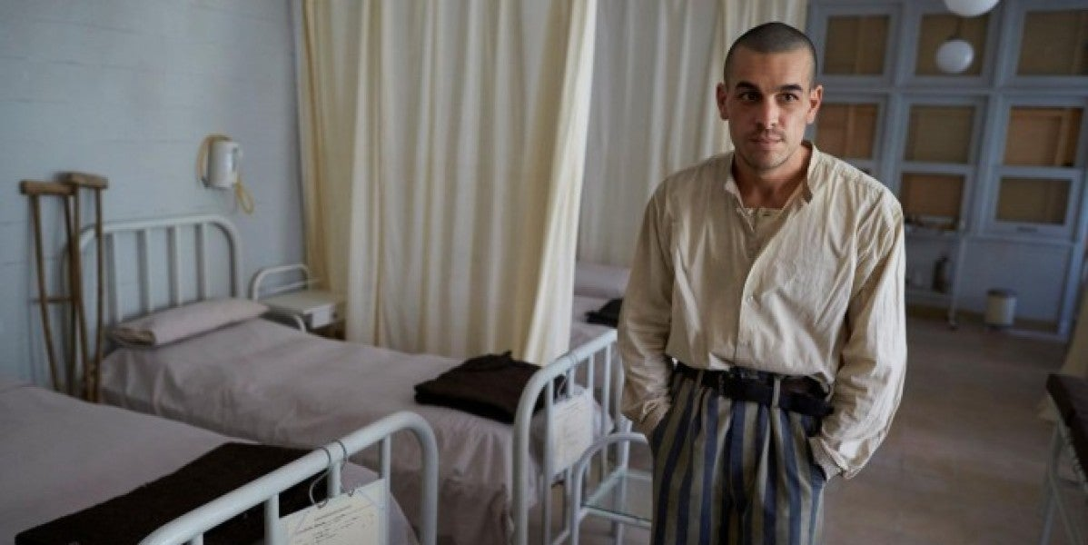 Mario Casas para la película 'El fotógrafo de Mauthausen'