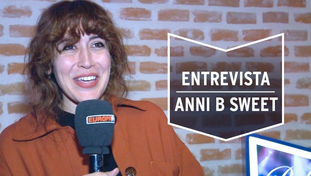 Anni B Sweet: 'mi próximo disco sera en castellano'