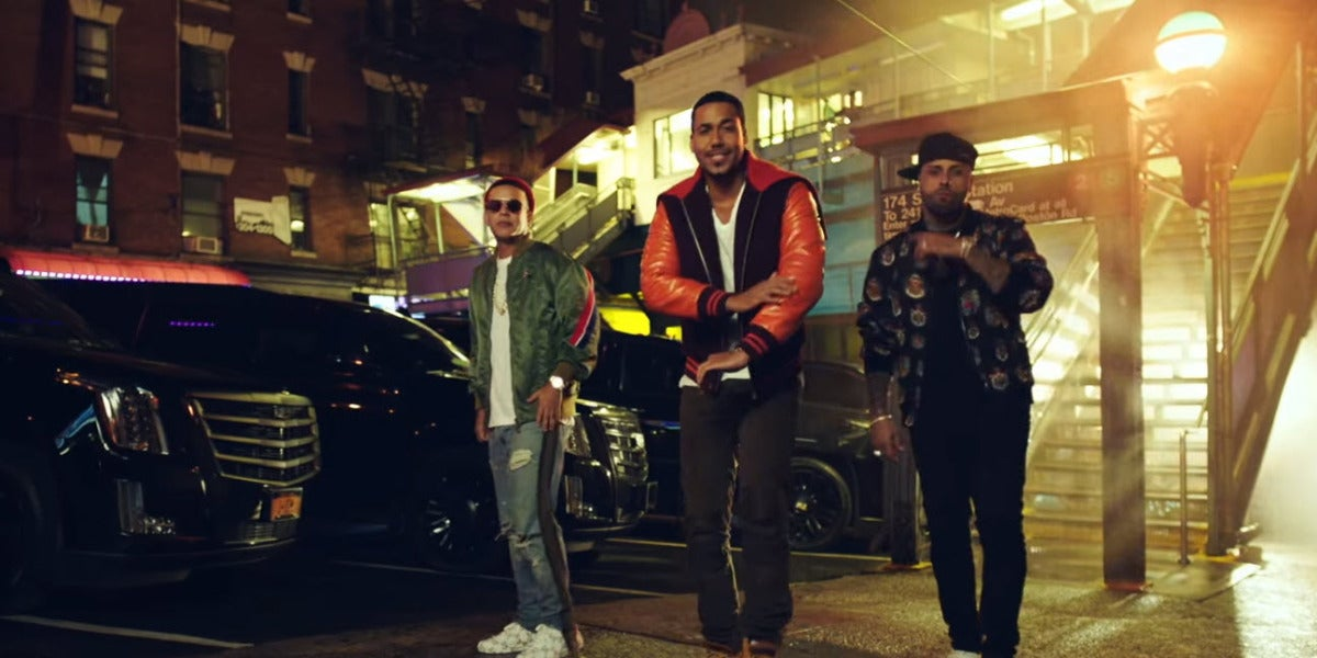 Romeo Santos, Daddy Yankee y Nicky Jam en 'Bella y Sensual'