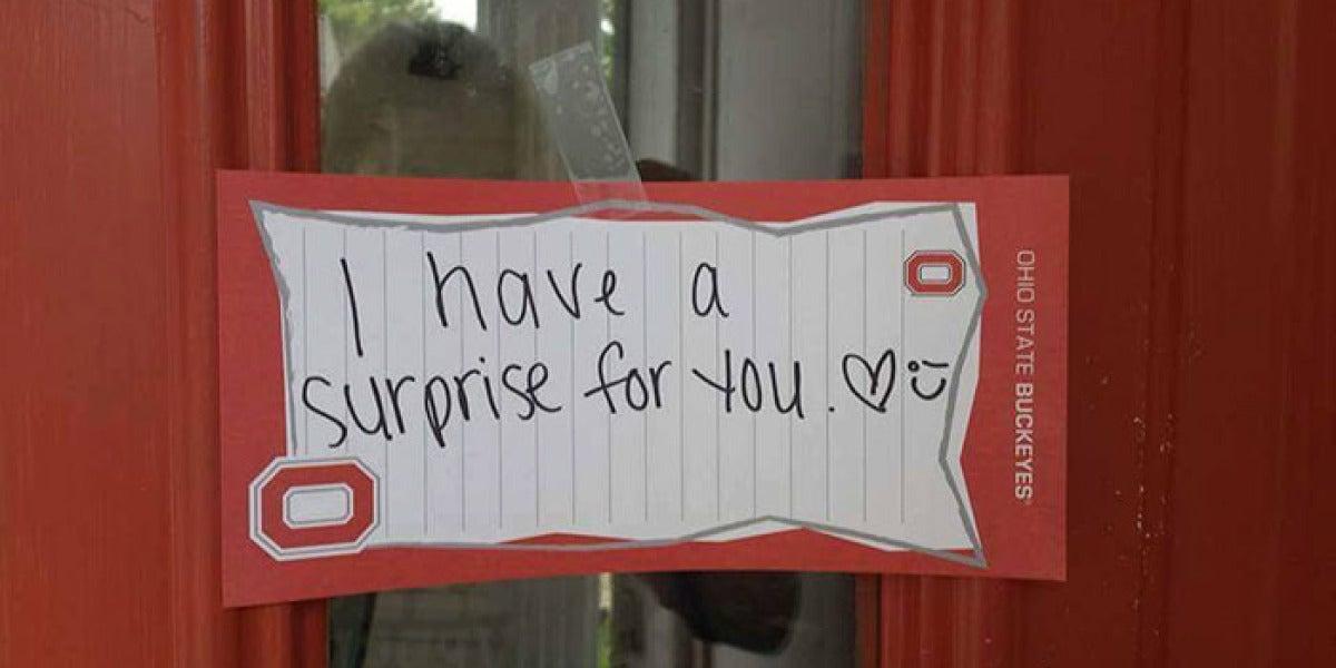 Su novio le preparó una bonita sorpresa que no terminó como pensaba