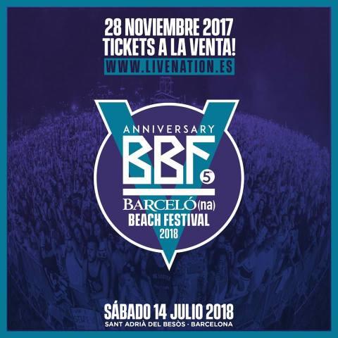 ¡Llega la 5ª edición del Barcelona Beach Festival!
