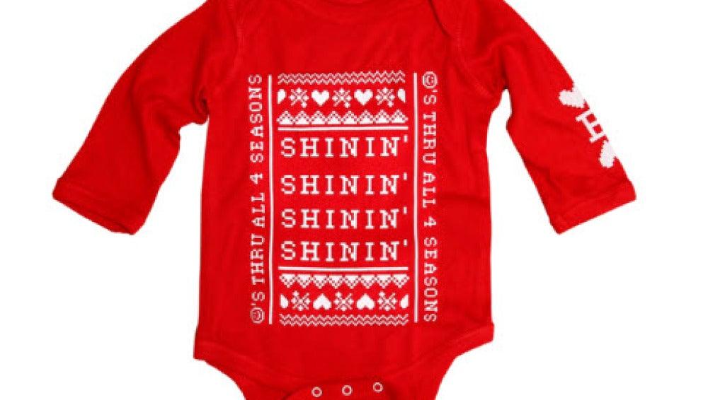 Uno de los pijamas de la colección navideña de Beyoncé