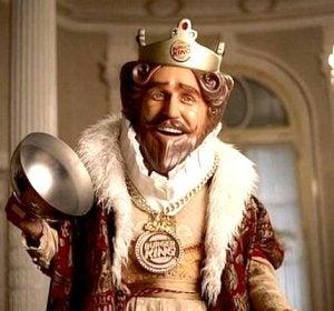 El rey de Burger King