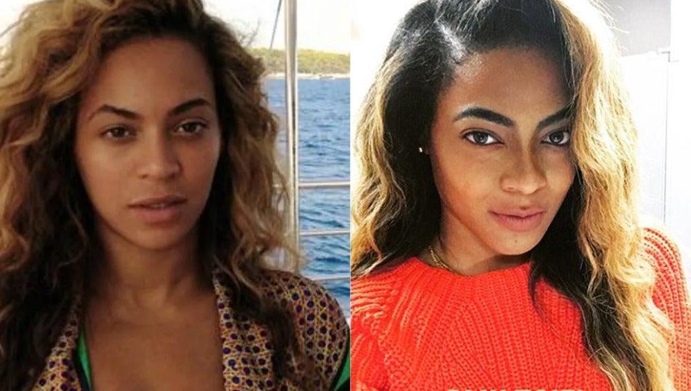 Brittany Williams, la doble de Beyoncé que arrasa en la red