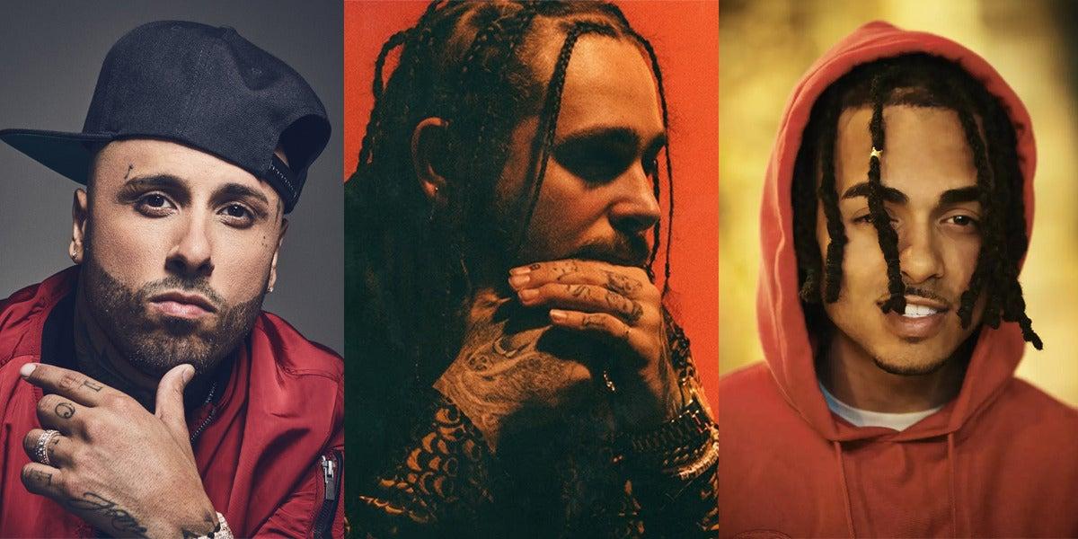 Post Malone se une a Nicky Jam y Ozuna para lanzar el remix latino de 'Rockstar'
