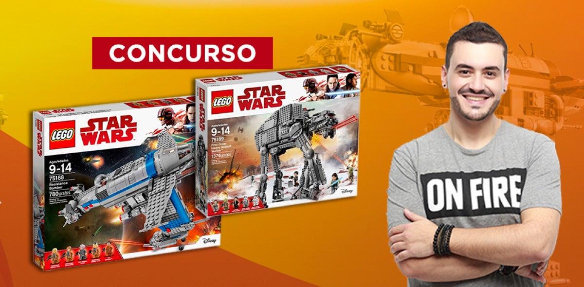 Concurso LEGO Star Wars Me Pones