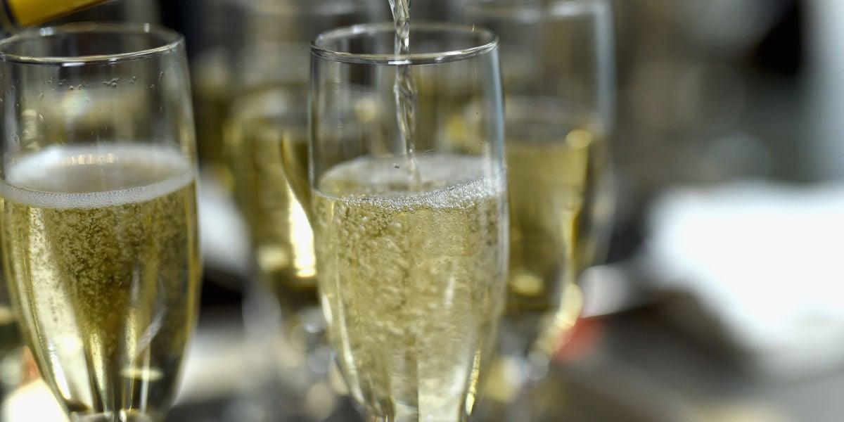 Copa de champán