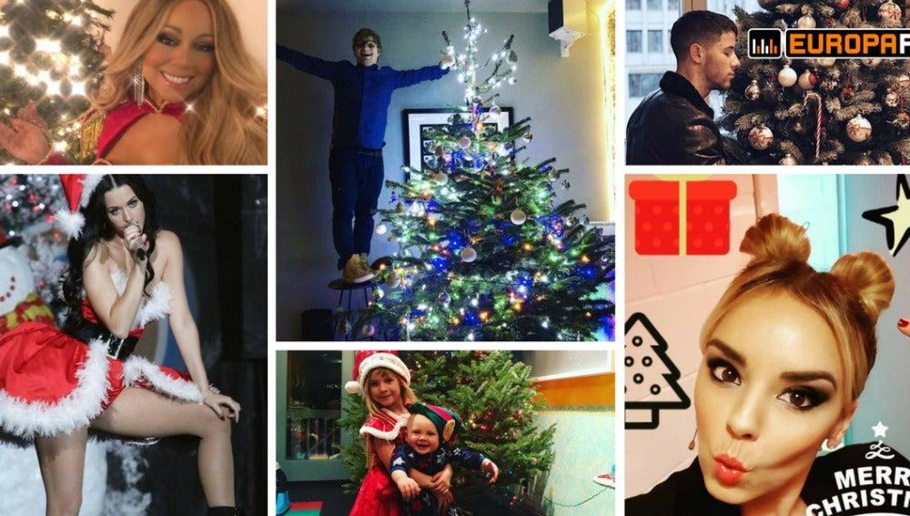 La Navidad de las celebrities